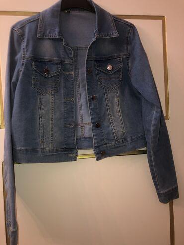 Джинсовая куртка (сделано в Турции)
