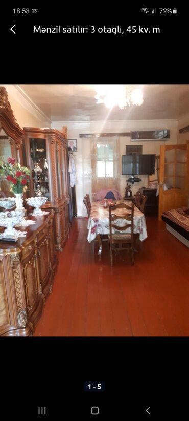 sutkalıq ev kirayələmək - Azərbaycan: Mənzil satılır: 3 otaqlı, 43 kv. m