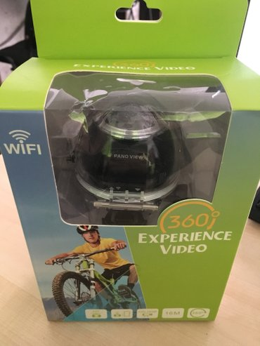 Bakı şəhərində 360° Ultra HD Wifi Action Camera + Waterproof Case + Mounts