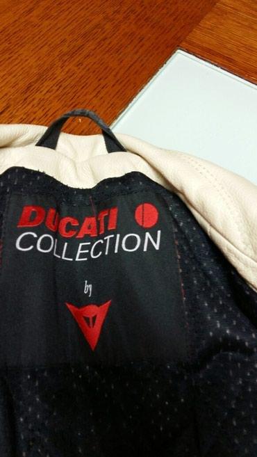 Dainese  Ducati kožna jakna ženska za motor br 44 polovna - Pancevo - slika 3