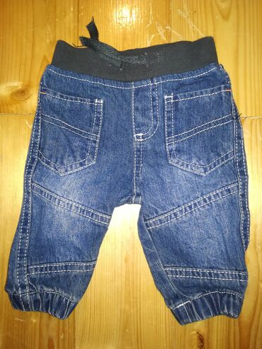 C&A teksas pantalone za bebe, veličina 62, nošene par puta