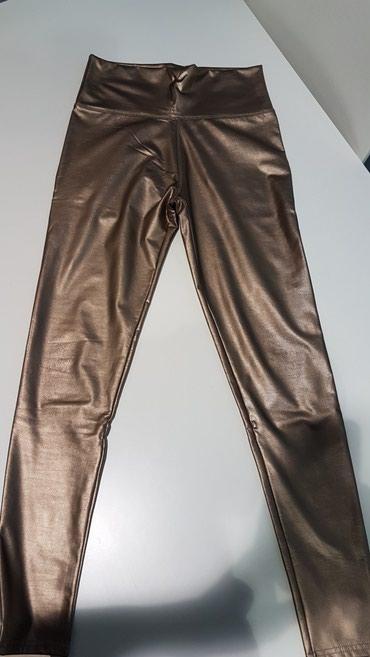 Zlatne pantalone, potpuno nove, univerzalna velicina - Belgrade