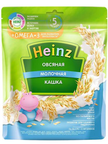 акита ину хатико в Кыргызстан: Heinz / Каша молочная овсяная с Омега 3. Состав:Сахар, овсяная мука