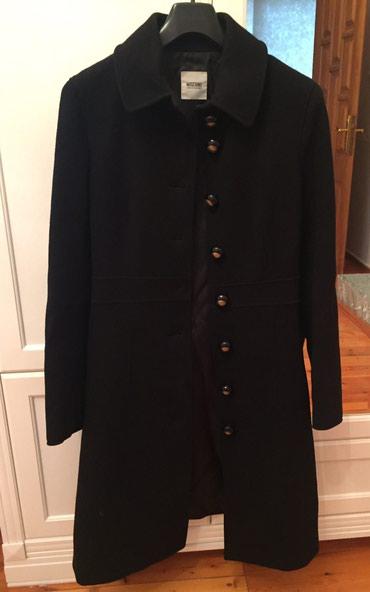 Пальто женское в отличном состоянии, размер42/44, MOSCHINO в Bakı