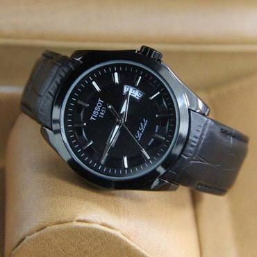 zhenskie chasy tissot original в Кыргызстан: Черные Мужские Наручные часы Tissot