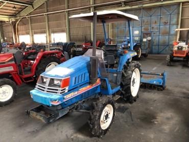 Продается надежный японский мини трактор ISEKI LANDHOPE180. Оснащен 3х