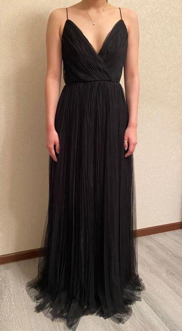 Вечернее платье черного цветаРазмер SПлатье было куплено на британском