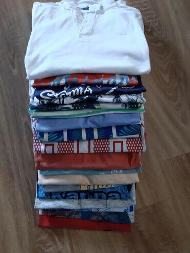 Dečija odeća i obuća - Barajevo: 18 majica kratak rukav,za decaka od 10,11 godina. sve ocuvane bez