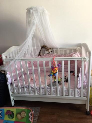 Продаю детскую кроватку и пеленальный стол. СРОЧНО! в Кара-Балта