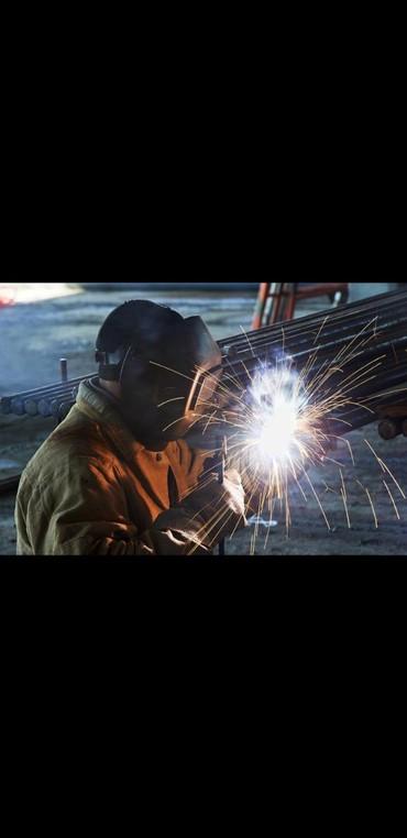 Поиск сотрудников (вакансии) в Кант: Сварщик керек айлык 18 000 сом срочно завод