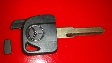 Ключ для Mercedes Sprinter, Vito, Atego. Цена за дубликат  с чипом 350 в Бишкек