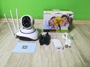 Elektronika - Pozarevac: Video nadzor iz jedne tačke – Wi-Fi HD rotaciona IP kamera za video