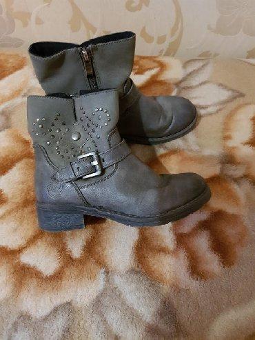 Деми ботинки, размер 34, состояние хорошее, цена 450 сом. Ватсап