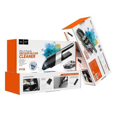 Orginal Avto tozsoran Hoco HP16PH16 Azure portativ vakuumlu avtomobil