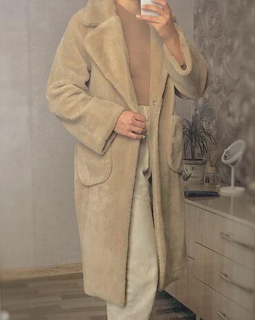 r 44 46 в Кыргызстан: Продаю Пальто teddy  Новое  Размер :44-46 Размер :camel  По всем вопро