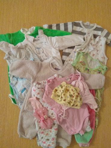 Много Одежды для новорожденного 3,4 месяцев в отл состояние 500с в Бишкек