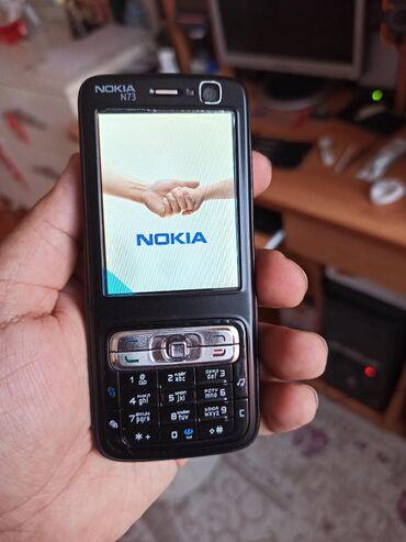 Nokia N73. Çiçək kimi. Işləyir