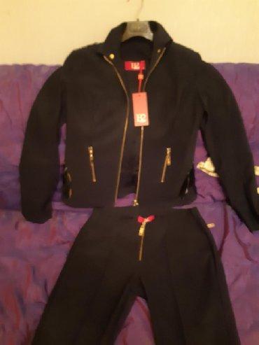 little black dress qiymeti в Азербайджан: Костюм. Balizza. razmer 40. пиджак новый. брюки. 2. раза