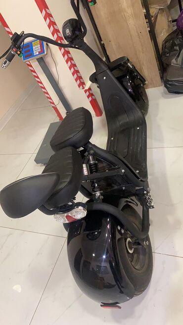 Другой транспорт - Черный - Бишкек: Продаю электрический мотоцикл  Абсолютно новый, ни разу не ездили. Вре