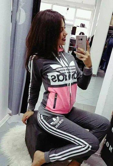 Adidas trenerka zenska - Srbija: Adidas trenerka zenska koplet s m l xl xxl