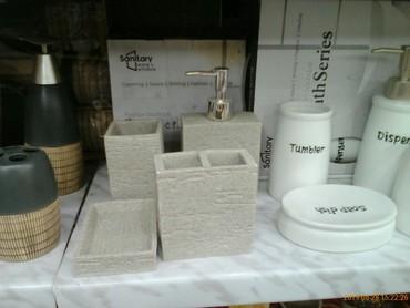 zapchasti dlya kamaza в Азербайджан: Nabor dlya vannoy, keramika, Turciya