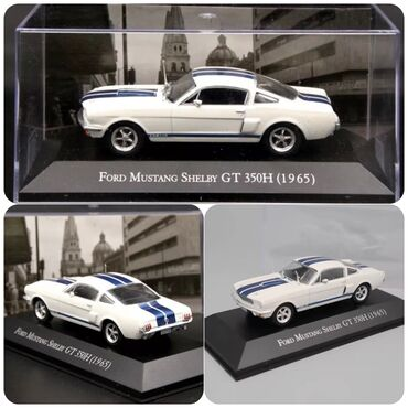 Ford mistang shelbi GT 350H .1965 model scale 1/43