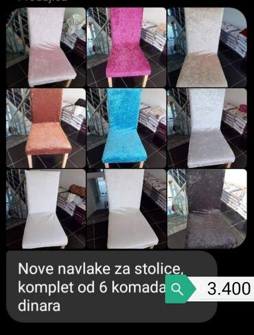 Bmw 6 серия 635csi mt - Vrnjacka Banja: Navlake za stolice, 6 kom. Komplet