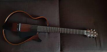 """Музыкальные инструменты - Кыргызстан: Гитара Yamaha SLG200S+ Усилитель Yamaha THR5   Серия гитар """"Silent"""" от"""