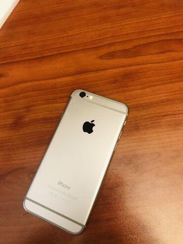 телефон fly 180 в Азербайджан: Б/У iPhone 6 16 ГБ Серый (Space Gray)