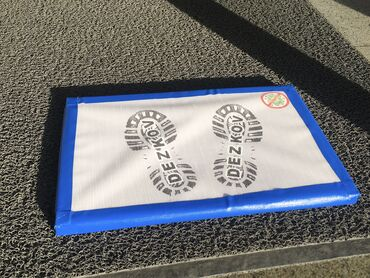 шины 205 65 r15 лето бу в Кыргызстан: Дезинфицирующие коврики(дез.раствор в комплекте):Покупка от