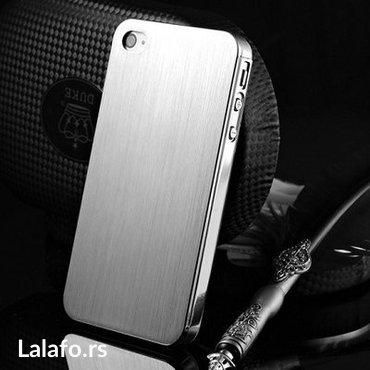 Aluminijumska maska za i phone 4/4S,5, 5S, 6, 6S cela aluminijumska, p