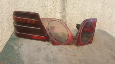 задние фары мерседес w210 в Кыргызстан: Задние плафоны мерседес w210. дешево . 3шт. фары
