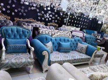 Продаю диван и кресло классика от производителя в Бишкек
