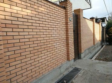 Делаю облицовочный кладку кирпича и кафеля. в Бишкек