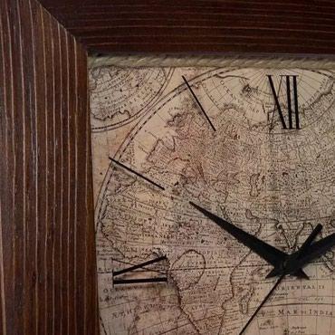 Деревянные настенные часы Салют в Бишкек