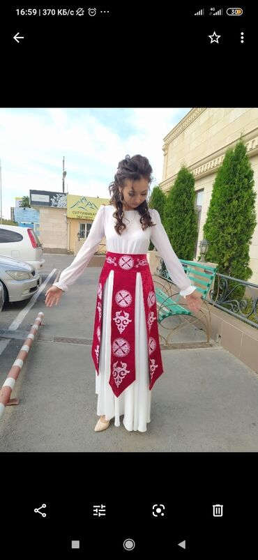 Платье на Кыз-Узатуу