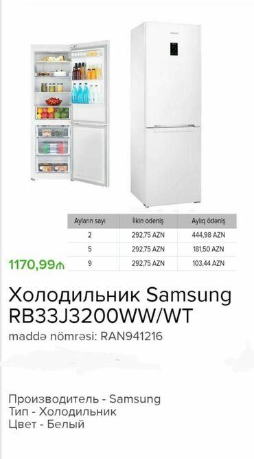 Yeni Quraşdırıla bilən Gümüşü soyuducu Samsung