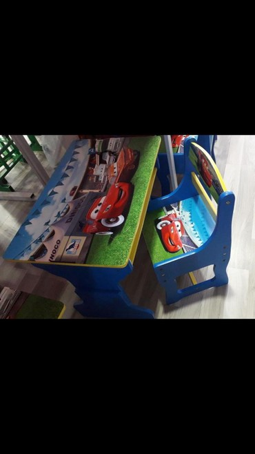 uşaq masaları - Azərbaycan: Usaq ucun masa desti 2-5 yas 130 azn seher daxili catdirilma