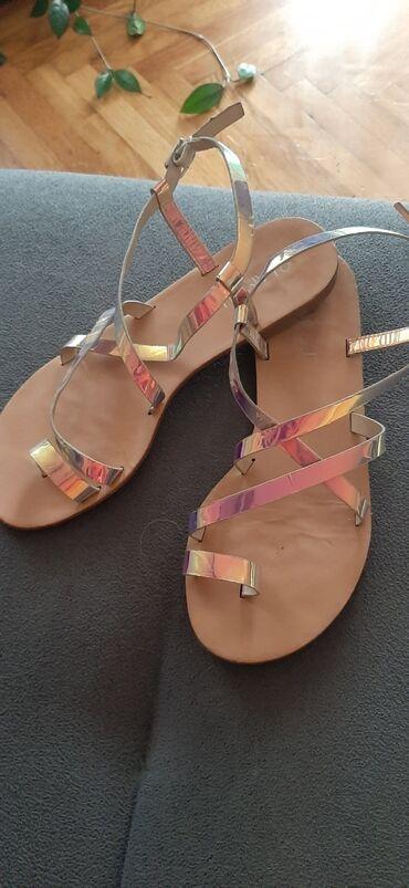 38 - Srbija: Amisu sandale kratko nosene,ocuvane 38 broj