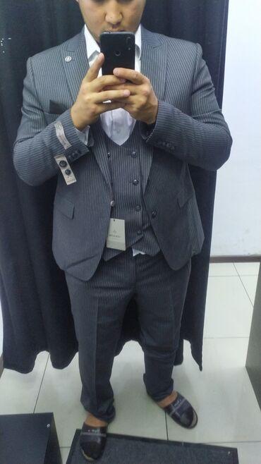 573 объявлений: Продаю костюм тройка. Одевали один раз размер 56, цена 4000. Брали за