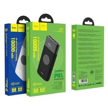 Orginal Hoco wireless power bank 10000mahEyni vaxtda 2 telefona enerji