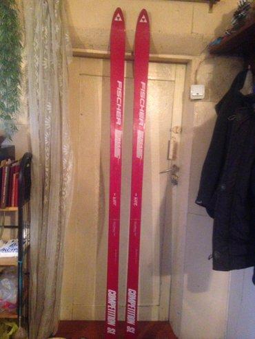 Продаю лыжи fischer ( мукачево ) 205. в отличном состоянии. в Бишкек