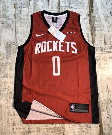 Баскетбольная джерси, Rockets, Westbrook. Новая, в упаковке. В наличии