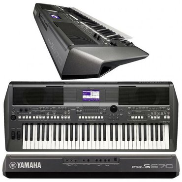 """Синтезаторы в Кыргызстан: Синтезатор от фирмы """"YAMAHA""""•Модель PSR-S670 Цифровой клавишный"""