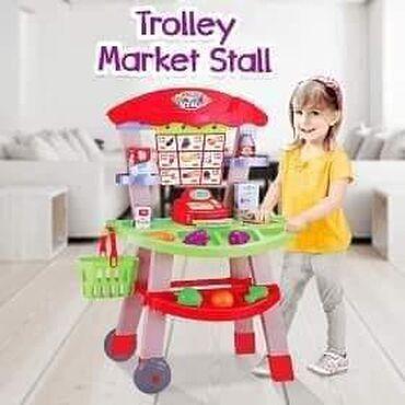 Mini market set 2899 dinara Mini market set sadrži u okviru postolja