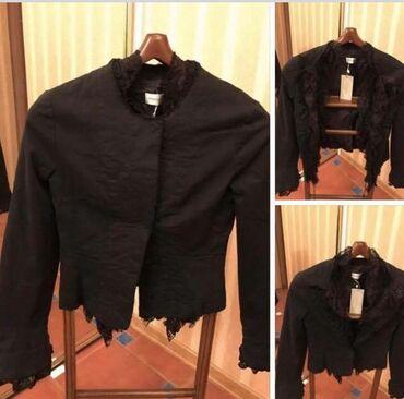 15 elan | ŞƏXSI ƏŞYALAR: Пиджак Motivi бренд италия размер М новый черный джинс + фран кружево