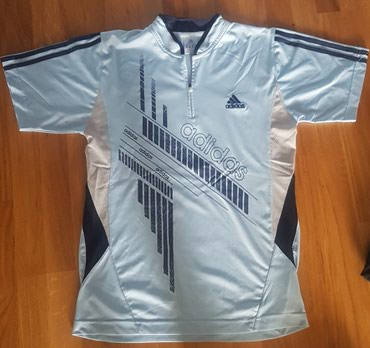 Adidas-l-velicina - Srbija: Adidas original sportska majica svetlo plava za sport ili trening