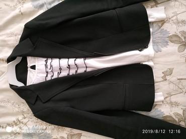 Пиджак школьный - Кыргызстан: Пиджак черный школьный для девочек. 6-8 класс. турция. отличное