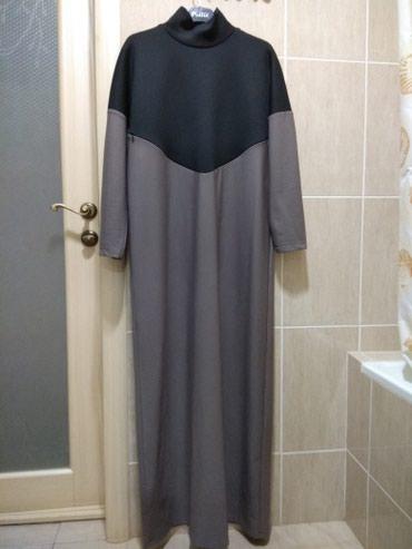 Продаю женское длинное платье-водолазкуможно для кормящих размер