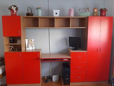 Dečija soba, očuvana, dimenzija: visina 185,dubina 36,širina 278